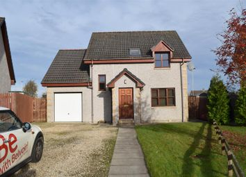 Thumbnail 4 bed detached house for sale in Birnie Drive, Elgin