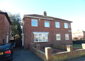 Thumbnail 3 bed semi-detached house for sale in Russell Avenue, South Shields