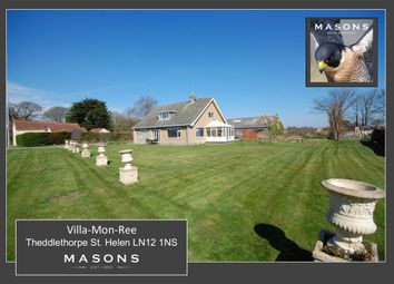 Thumbnail 4 bed detached house for sale in Saltfleet Road, Theddlethorpe, Mablethorpe
