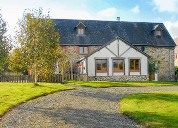 Thumbnail 4 bed equestrian property for sale in Saint-Aubin-De-Terregatte, Manche, France