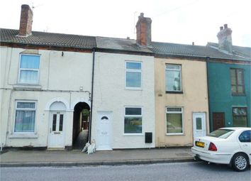 Thumbnail 2 bed terraced house for sale in Langwith Road, Bolsover, Chesterfield, Derbyshire