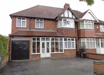 Thumbnail 4 bed semi-detached house for sale in Radstock Avenue, Hodge Hill, Birmingham
