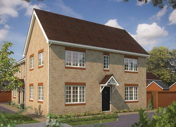 """Thumbnail 2 bed semi-detached house for sale in """"The Woolstone"""" at King Alfred Way, Oxfordshire, Wantage"""