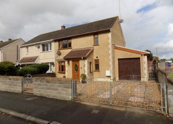 Thumbnail 3 bed semi-detached house for sale in Brwyna Avenue, Aberavon, Port Talbot, Neath Port Talbot.