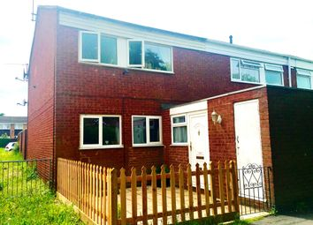 Thumbnail 3 bedroom end terrace house to rent in Enfield Close, Houghton Regis, Dunstable