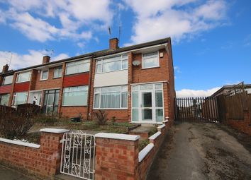 Thumbnail 3 bedroom end terrace house for sale in Armscott Road, Coventry