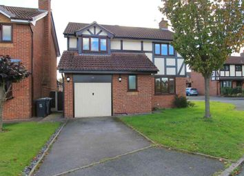Thumbnail 4 bed detached house for sale in Ashley Meadow, Haslington, Crewe