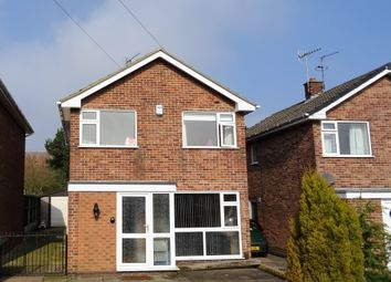 Thumbnail 4 bedroom detached house to rent in Dawson Close Newthorpe, Nottingham
