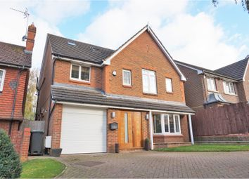 Thumbnail 5 bed detached house for sale in Five Fields Close, Watford