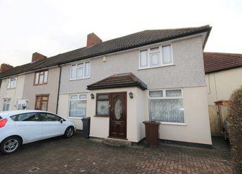 Thumbnail 3 bedroom end terrace house for sale in Bromhall Road, Dagenham