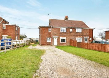 Thumbnail 3 bed semi-detached house for sale in Wellingham Road, Tittleshall, King's Lynn