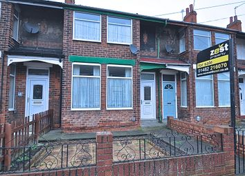 3 bed terraced house for sale in Stephenson Street, Hull HU9