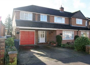 Thumbnail 5 bedroom semi-detached house for sale in Fulton Crescent, Bishop's Stortford