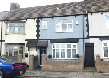 Thumbnail 3 bed terraced house for sale in Chester Road, Hartlepool