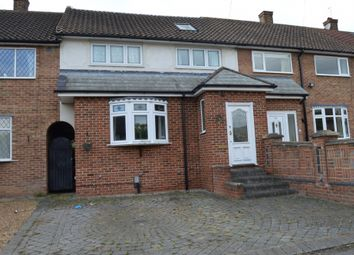 Thumbnail 4 bed terraced house to rent in Oakley Drive, Romford