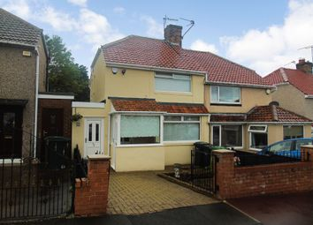 Thumbnail 2 bed semi-detached house for sale in Alwinton Gardens, Gateshead