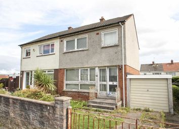 Thumbnail 3 bed semi-detached house for sale in Coshneuk Road, Millerston, Glasgow