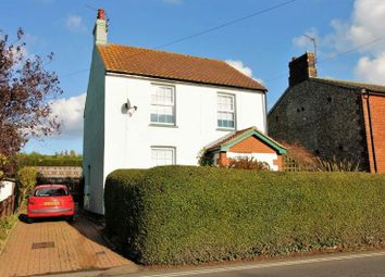 Thumbnail 4 bed detached house for sale in Church Road, Kessingland, Lowestoft