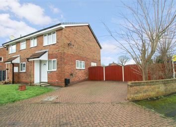 Thumbnail 1 bed semi-detached house for sale in Marsh Way, Penwortham, Preston