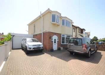 Thumbnail 3 bed detached house for sale in Vicarage Road, Oakdale, Poole, Dorset