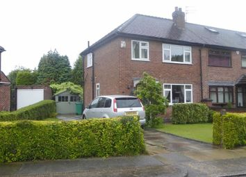 Thumbnail 2 bed semi-detached house for sale in Dunnisher Road, Newall Green, Manchester
