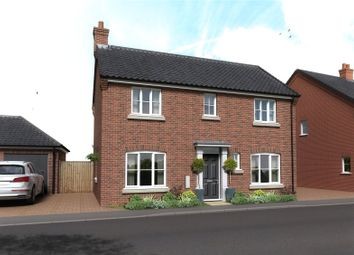 Thumbnail 4 bed detached house for sale in Plot 35, The Cricketers, Holt Road, Horsford
