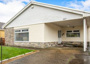 Thumbnail 3 bed detached bungalow for sale in Llangyfelach Road, Treboeth, Swansea