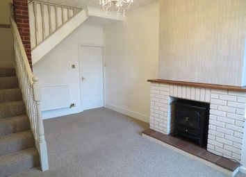 Thumbnail End terrace house to rent in Collin Street, Uttoxeter