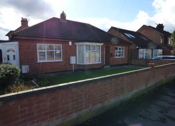 Thumbnail 3 bed bungalow for sale in Wyvern Avenue, Leicester