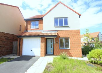 Thumbnail 4 bed detached house for sale in Water Lily Drive, Darlington