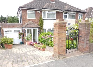 Thumbnail 3 bed semi-detached house for sale in Barn Rise, Wembley Park