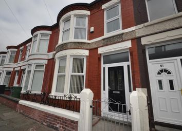 Thumbnail 3 bed terraced house for sale in Walsingham Road, Wallasey
