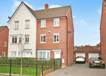 Thumbnail 4 bedroom town house for sale in Three Valleys Way, Bushey