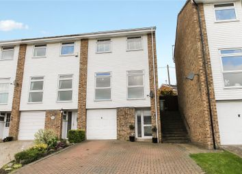 Thumbnail 3 bed end terrace house for sale in Challock Close, Biggin Hill, Westerham
