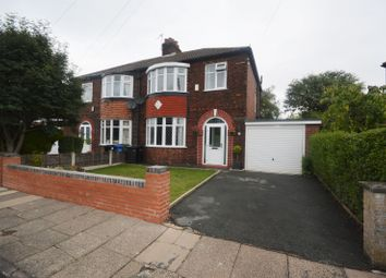 Thumbnail 3 bed semi-detached house for sale in Hale Road, Heaton Norris, Stockport