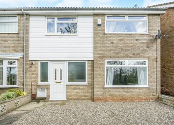 Thumbnail 4 bed semi-detached house for sale in Alder Close, Bradwell, Great Yarmouth