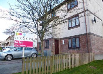Thumbnail 2 bed flat to rent in Porthmellon Gardens, Callington
