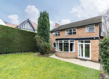 Thumbnail 4 bed detached house for sale in Arlington Drive, Mapperley Park, Nottingham