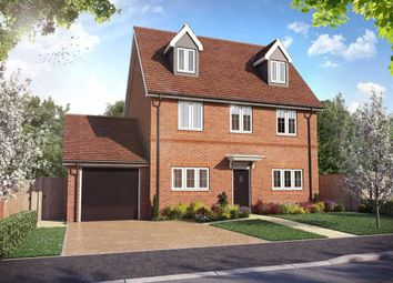Thumbnail 4 bed detached house for sale in Longhorn Gardens, Aston Clinton, Buckinghamshire
