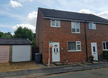 Thumbnail 3 bed semi-detached house to rent in Coopers Road, Martlesham Heath, Ipswich