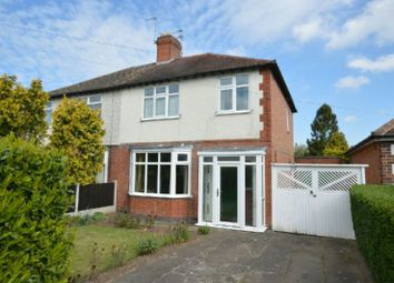 Thumbnail 3 bedroom semi-detached house for sale in Grange Drive, Glen Parva, Leicester