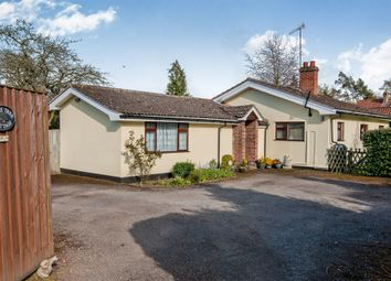 Thumbnail 3 bedroom detached bungalow for sale in The Street, Hacheston, Woodbridge