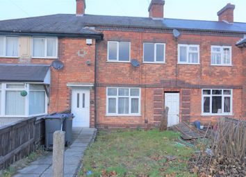 Thumbnail 3 bed terraced house for sale in Norbiton Road, Birmingham