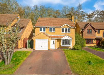 Thumbnail 4 bedroom detached house for sale in Sovereigns Court, Kettering