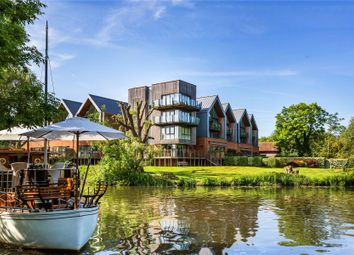 Thumbnail 4 bed flat for sale in Whittets Ait, Weybridge, Surrey