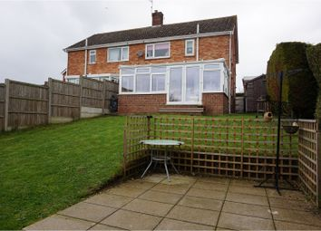 Thumbnail 3 bed semi-detached house for sale in Oak Way, Halesworth