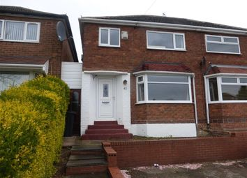Thumbnail 3 bedroom semi-detached house to rent in Lechlade Road, Great Barr, Birmingham