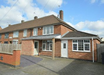 Thumbnail 3 bed semi-detached house for sale in Sturdee Road, Leicester