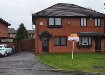 Thumbnail 2 bed property to rent in Canon Hudson Close, Willenhall