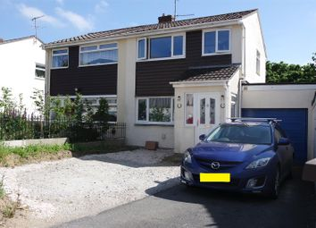 Thumbnail 3 bed property for sale in Bawden Road, Bodmin